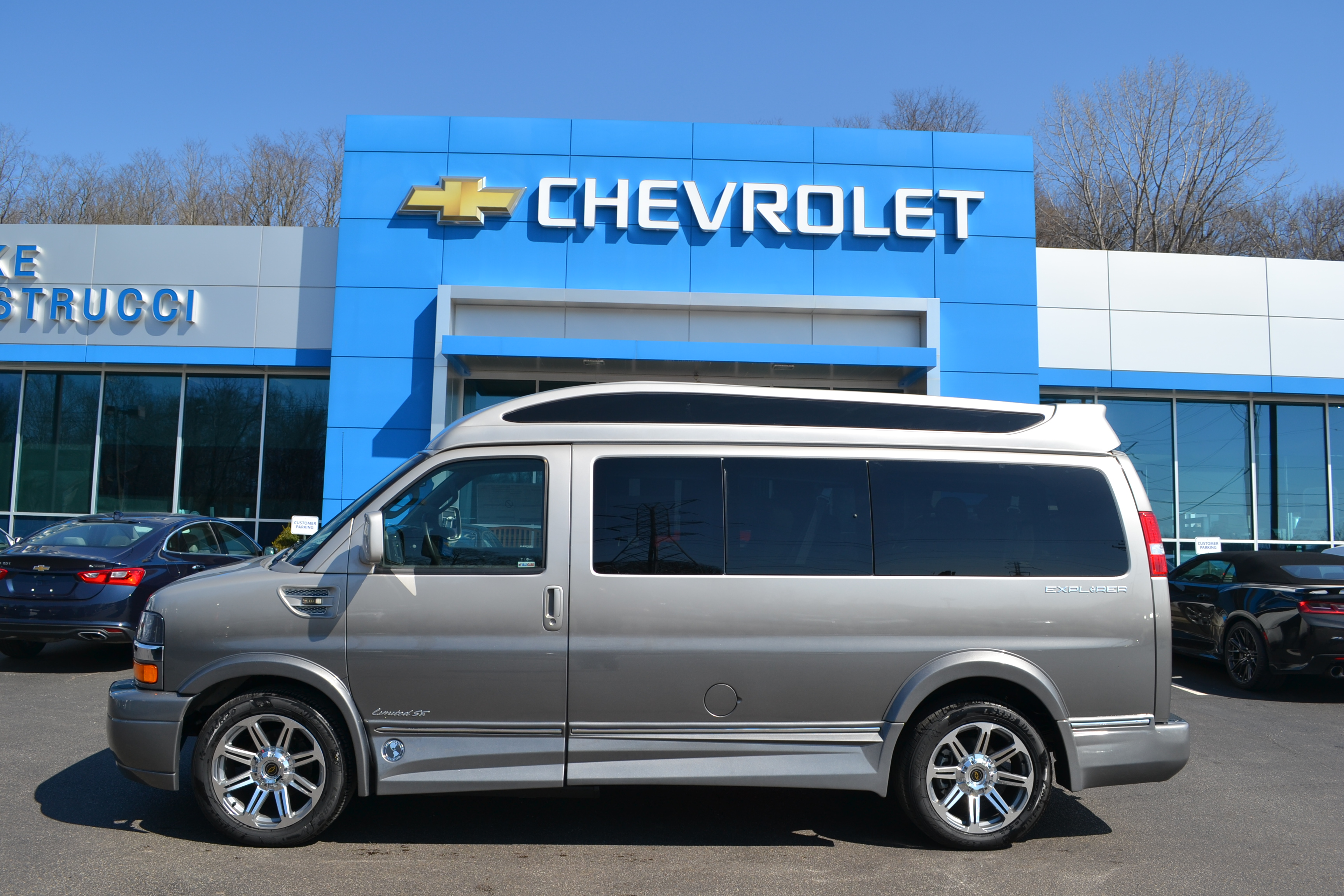 2017 Chevy Express 2500 - Explorer Limited X-SE VC - Mike Castrucci Conversion  Van Land