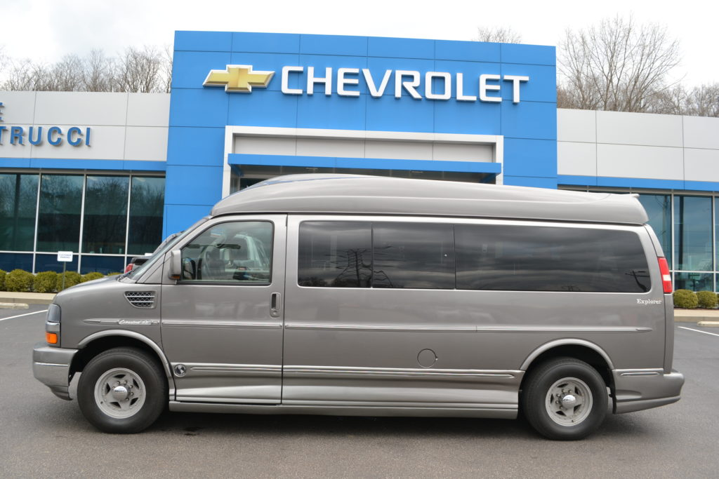 2011 Chevrolet Express 9 Passenger Explorer Limited X-SE Graystone Metallic Mike Castrucci Chevrolet Conversion Van Land