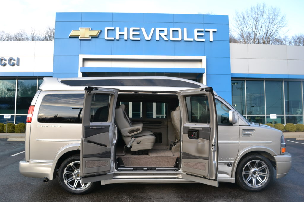2018 Chevy Express Explorer Limited X SE VC Mike