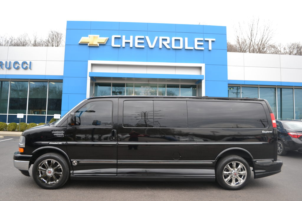 2011 Chevrolet Express 9 Passenger Explorer Limited X-SE Mike Castrucci Chevrolet Conversion Van Land