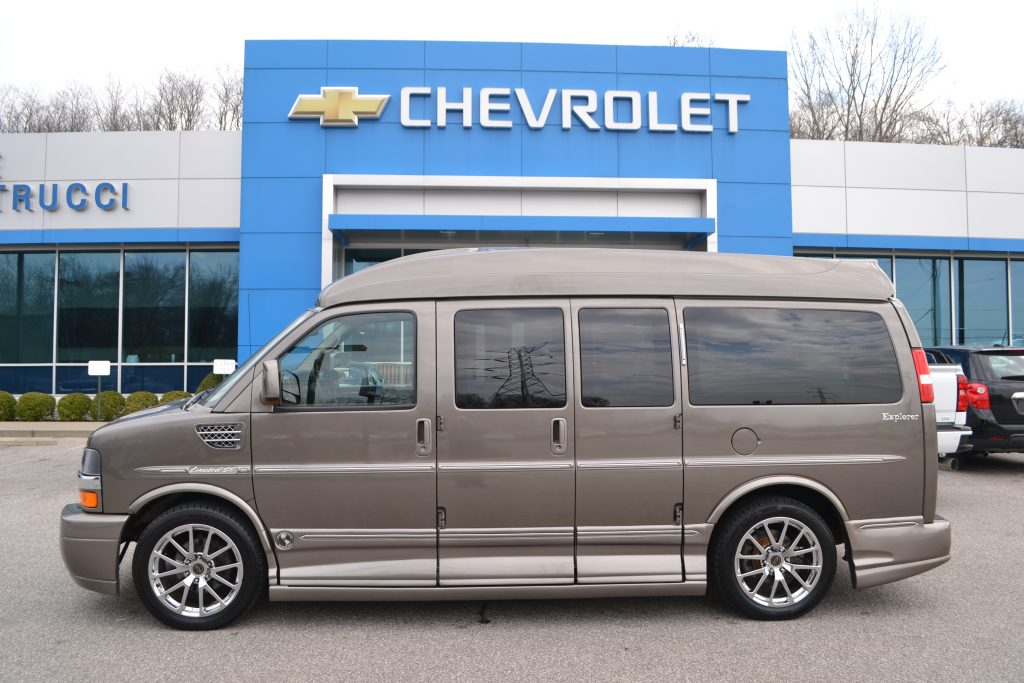 2013 Brownstone Metallic Chevrolet Express Explorer Limited X-SE Conversion Van land Mike Castrucci Chevrolet