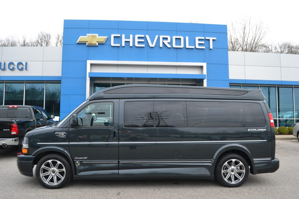 2017 Chevrolet Express Explorer Limited X-SE VC 9 Passenger Hi- top conversion van Land