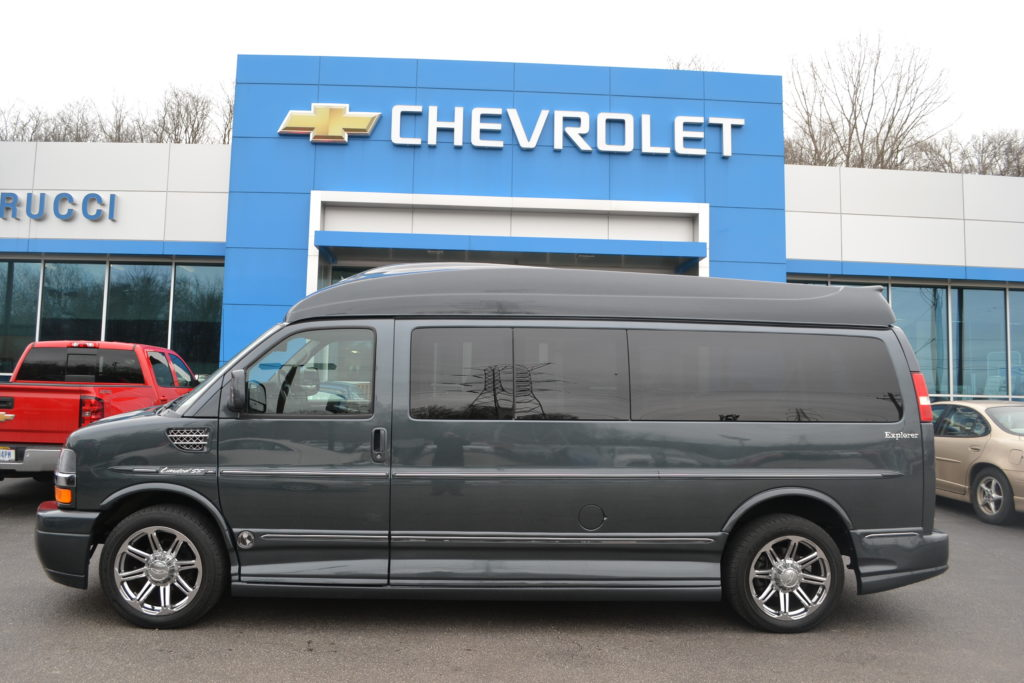 15 Passenger Explorer Conversion Van 2014 Chevrolet Express Cyber Gray Metallic Conversion Van Land