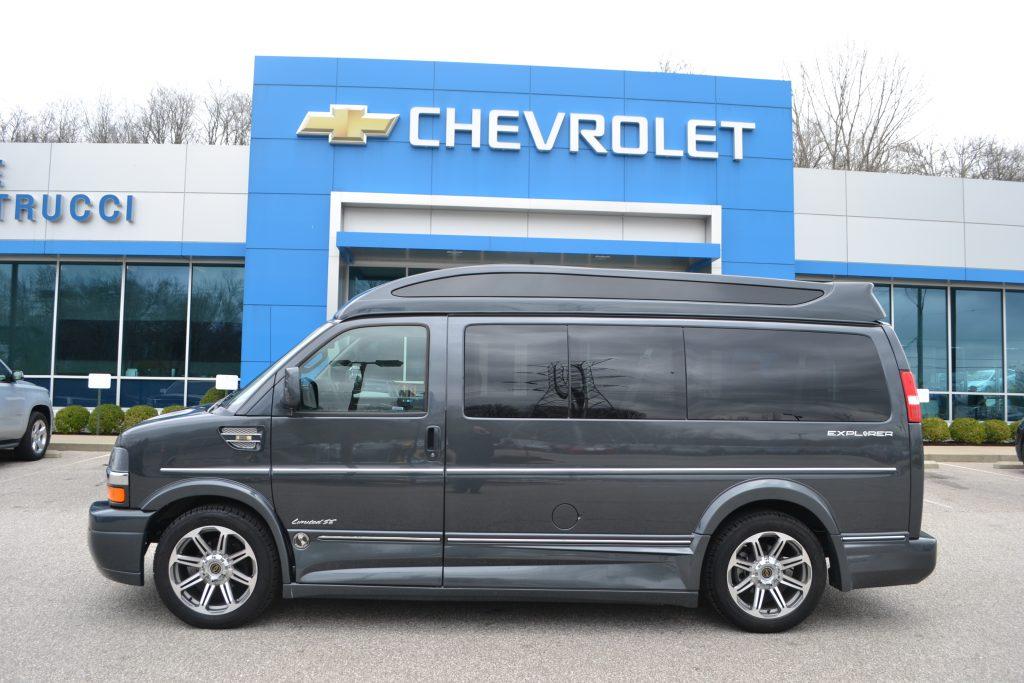 Explorer Limited X-SE Cyber Gray Metallic Conversion Van Land