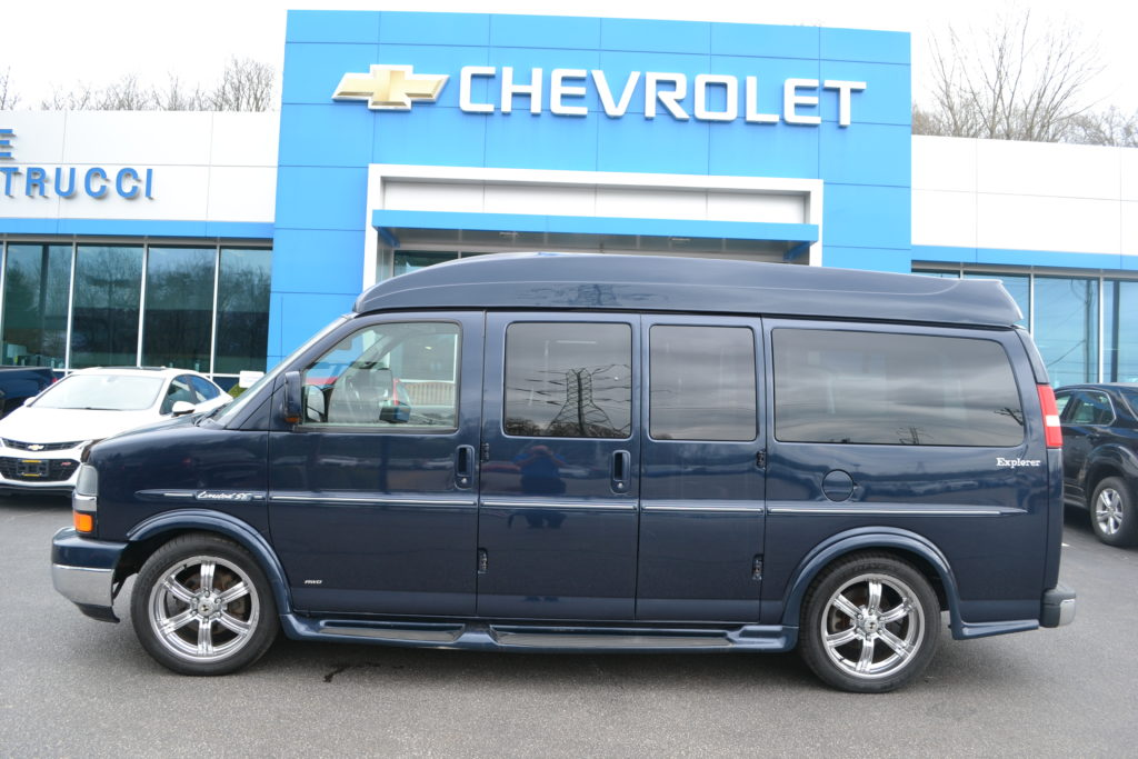 2010 AWD Chevrolet Express Hi top Conversion Van with Wheelchair Lift Mike Castrucci Chevrolet Conversion Van Land
