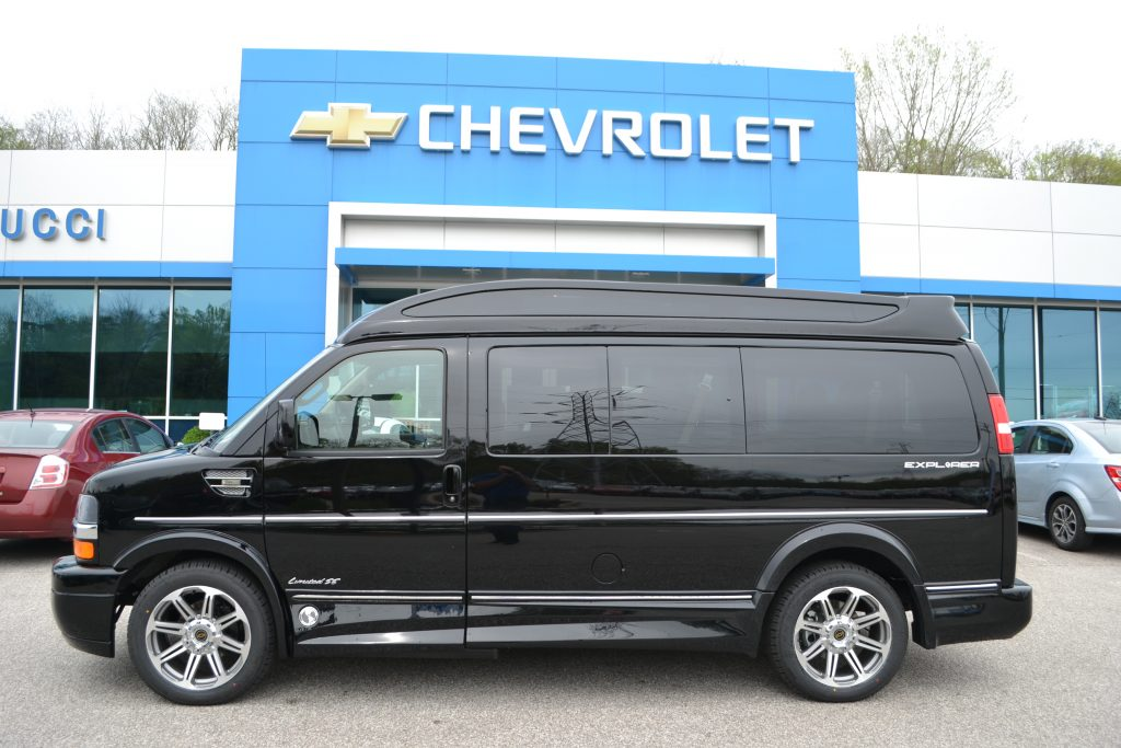 2017 Black Explorer Conversion Van