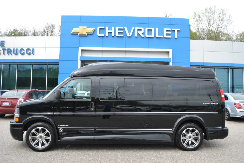 2017 Chevrolet Express Explorer 9 Passenger Conversion Van Land