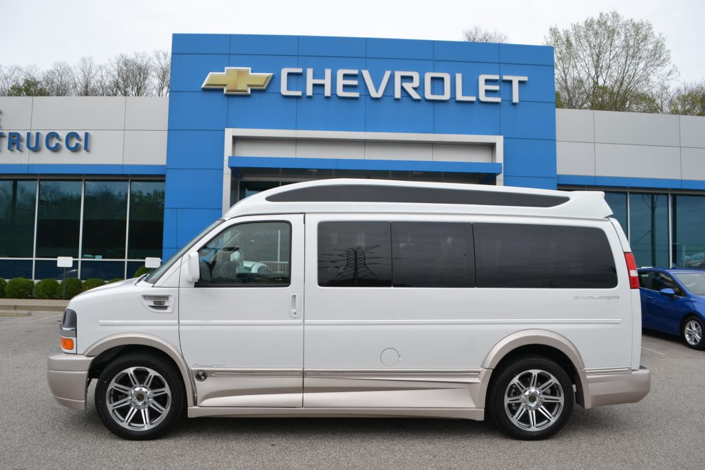 2017 Chevrolet Express Explorer Limited X-SE White Hi top Conversion Van Land