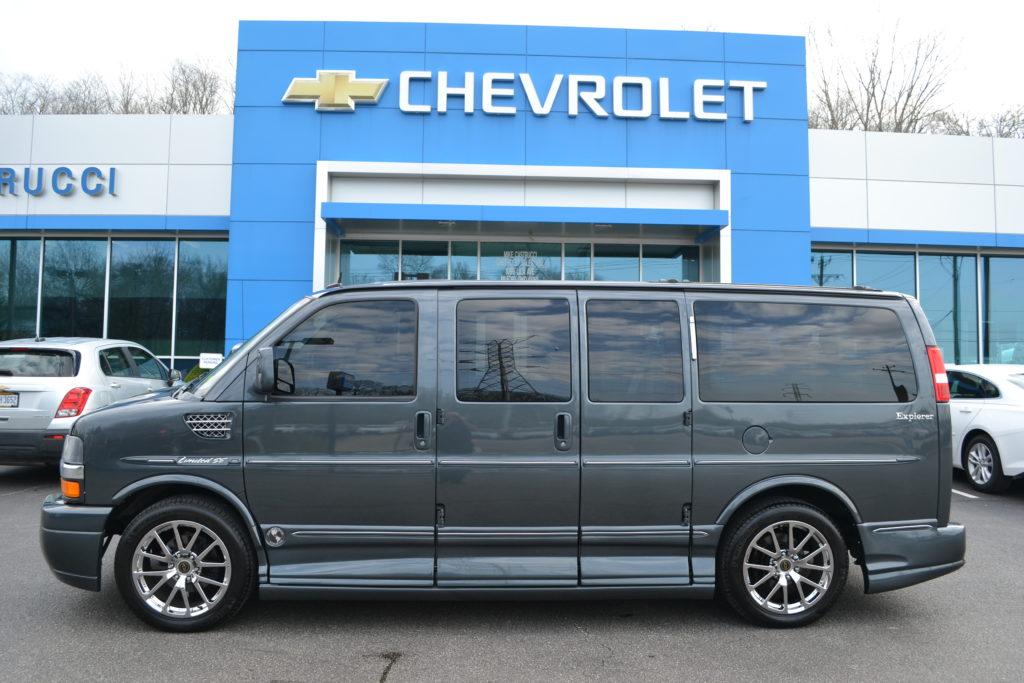 2014 Chevrolet Express Explorer Limited X-SE Cyber Gray Metallic Mike Castrucci Chevrolet Conversion Van Land