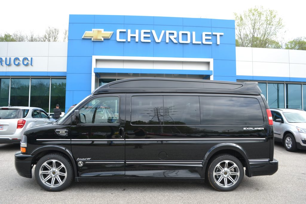 2017 Chevrolet Express Explorer Limited X Se Vc Conversion Van Land Black Hi Top