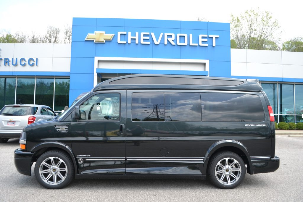 2017 Explorer Van Graphite to Black Fade Conversion Van Land