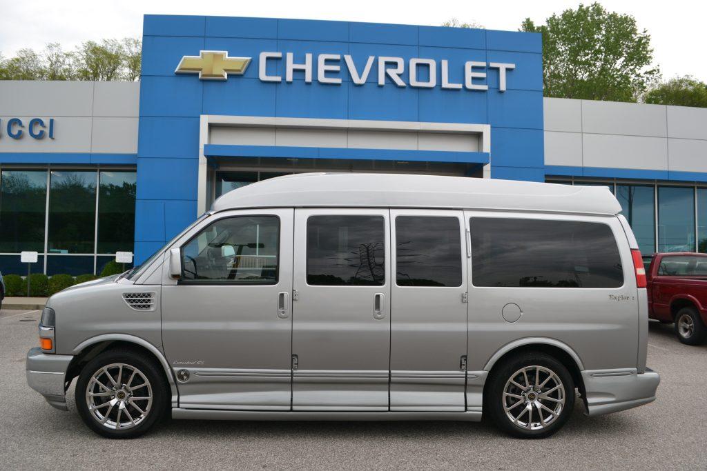 2011 Explorer Van Hi-top Silver Fade Conversion Van Land