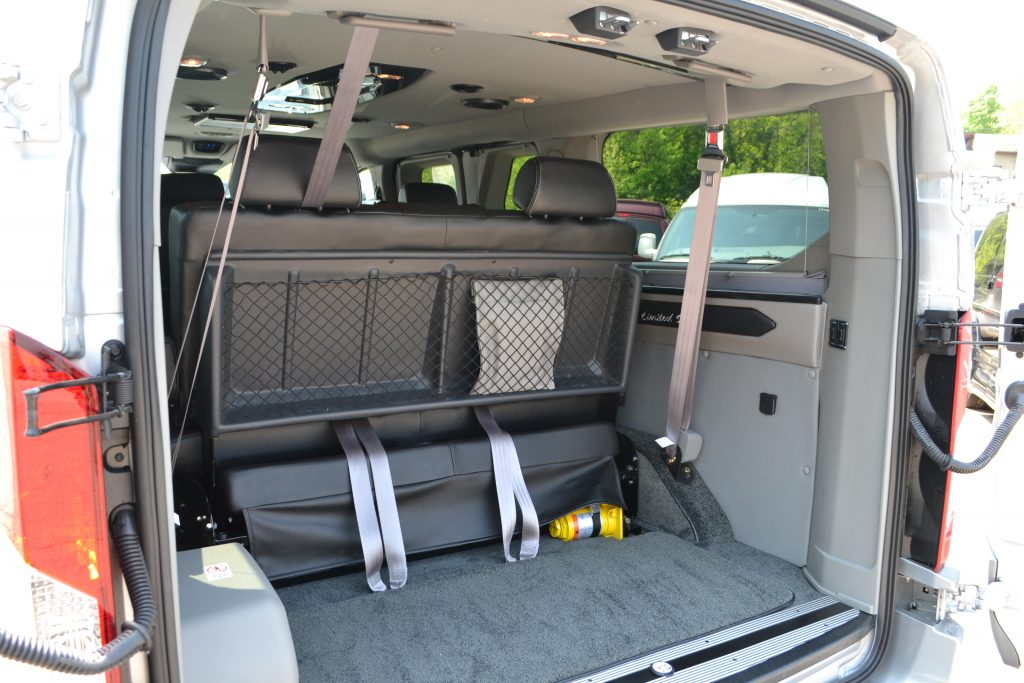 Plenty Of Cargo Room For All The Adventures Mike Castrucci Ford Conversion Van Land