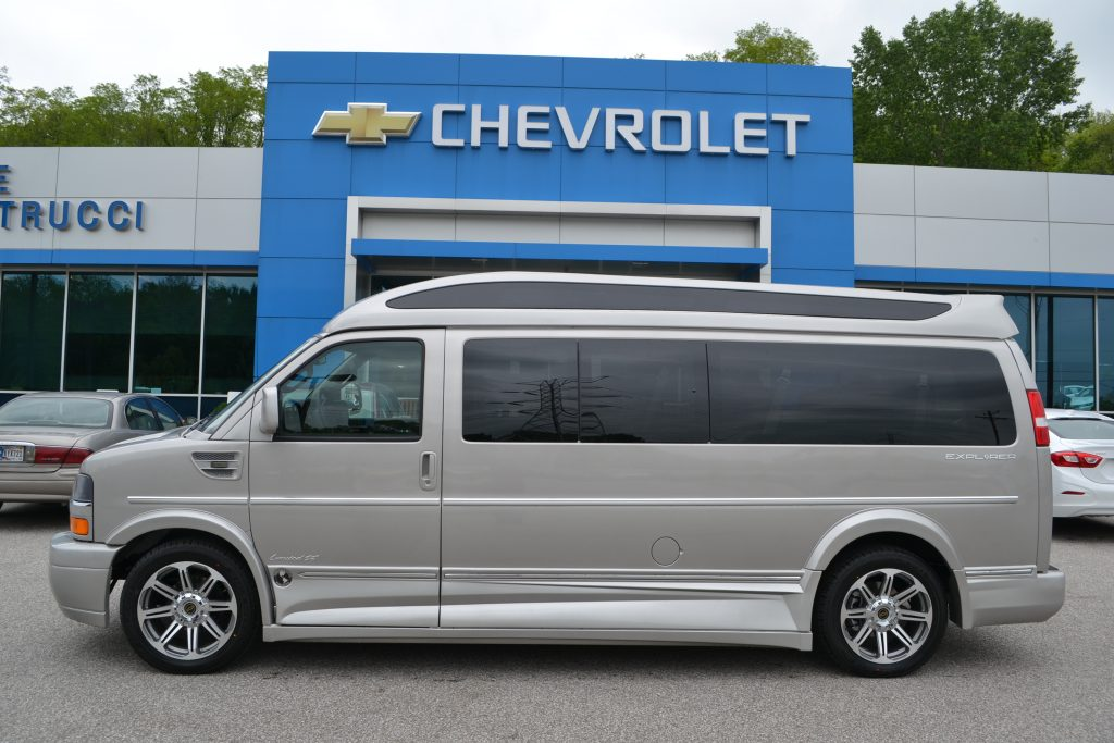 2017 Chevrolet Express 9 Passenger Explorer Conversion Van Silver Birch Metallic Mike Castrucci Chevrolet Conversion Van Land
