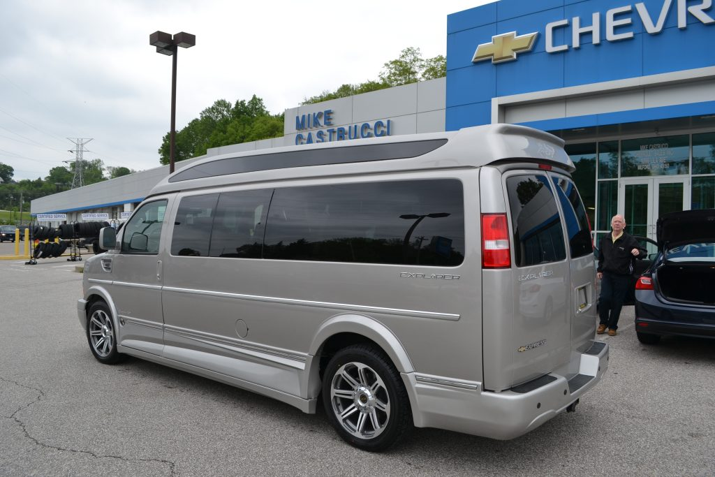 Explorer Van Co X on Chevy 9 Passenger Conversion Van Interior