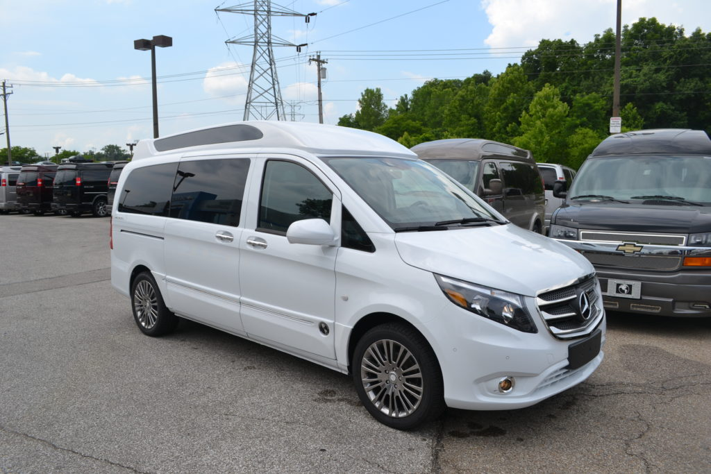 2017 Mercedes Metris Explorer Conversion Mike Castrucci Chevrolet Van Land H3286865 White