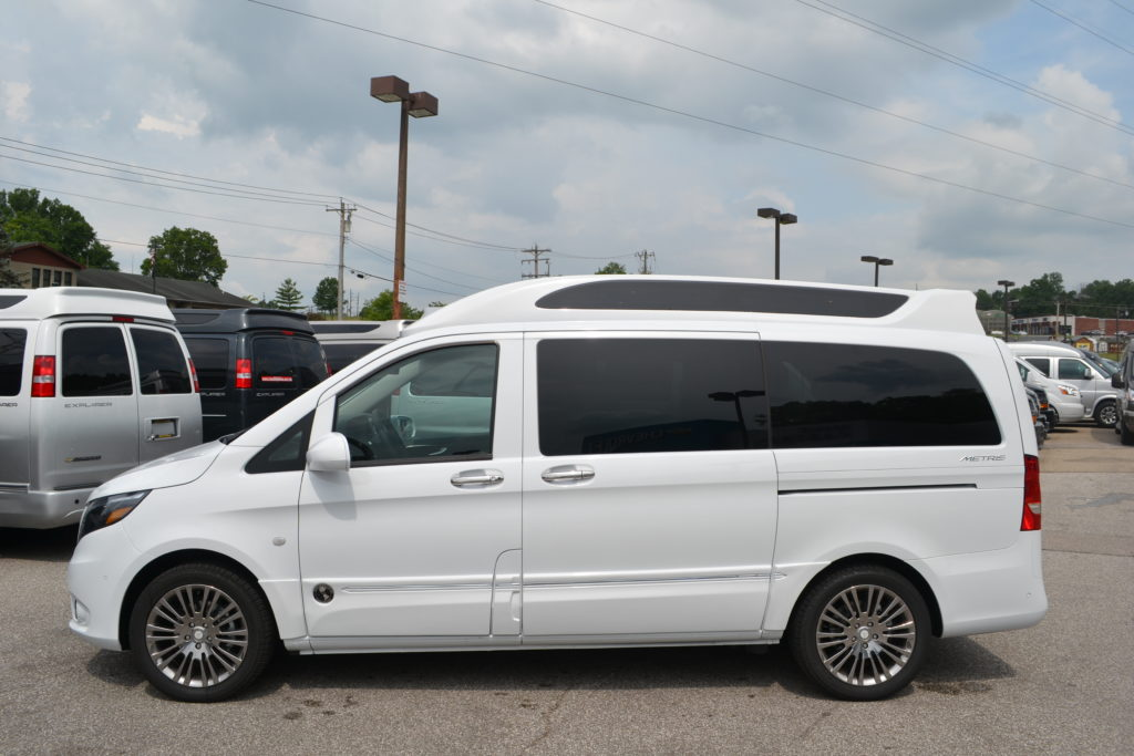 2017 Mercedes Metris By Explorer Can Company Mountain Crystal White Metallic Mike Castrucci Conversion Van Land