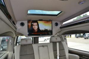 Executive travel limo van