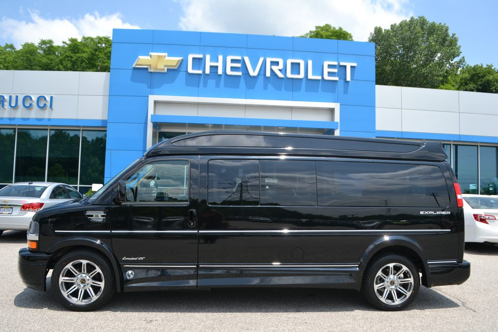 2016 Chevrolet Express 2500 Extended Explorer Executive Package VIP Travel Mobile Office