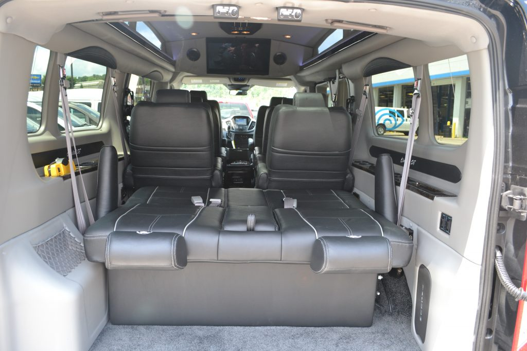 Rear Power 3 Way Sofa Explorer Van Company Conversion Land