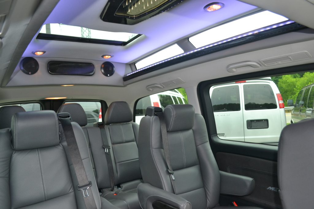 Interior 2016 Mercedes Metris By Explorer Van Co Conversion Land Rear Sunroof
