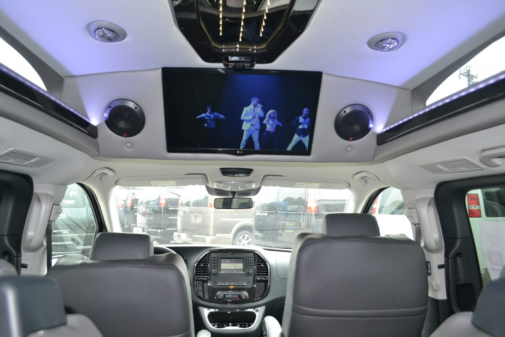Interior 2016 Mercedes Metris By Explorer Van Co Conversion Land 22 TV
