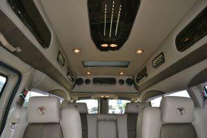 Rear View Explorer Conversion van Indirect Lighting panel