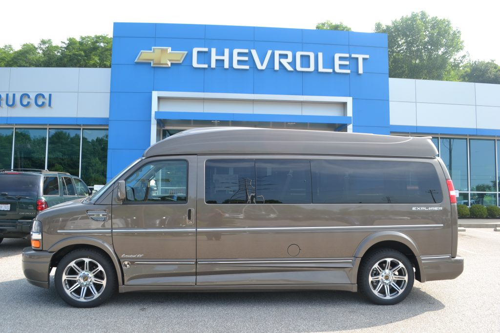 Extended 7 Passenger Explorer Hi top Conversion Van