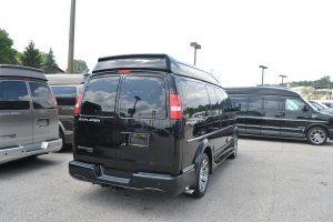 Rear and Passenger Side 2016 Explorer Conversion Van Mike Castrucci Chevrolet Conversion Van Land