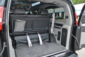 Rear Cargo Area 2016 Explorer Van