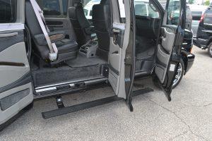 Power Retractable Running Boards Explorer Van