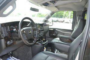 Explorer Van 2016 Front Driver Seat & Dash