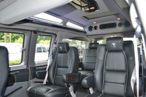 Center Captian Chairs 2016 Explorer Van Conversion