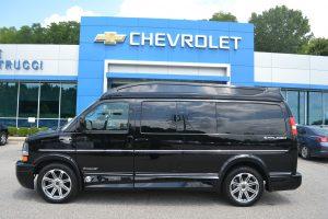 New Black Explorer Conversion Van