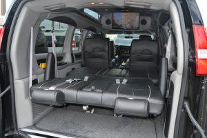 3 way Power Sofa Explorer Conversion Van
