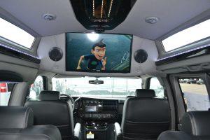 29 Samsung HD TV Explorer Conversion Van
