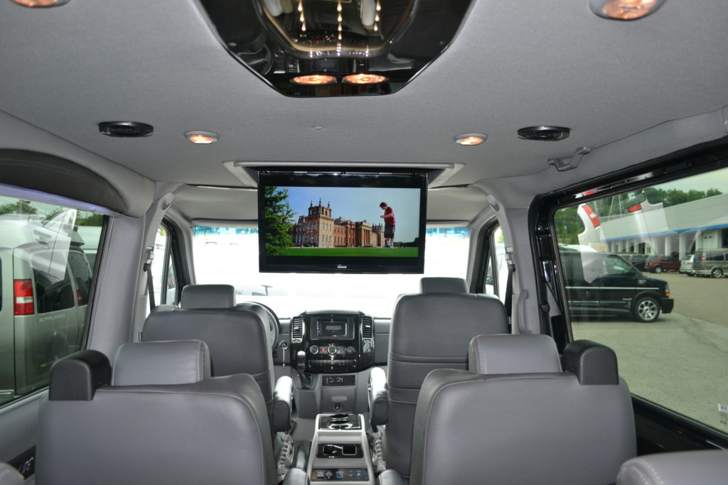 Mercedes Sprinter Explorer Conversion Van 29 In Power Fold Down TV Mike Castrucci Land