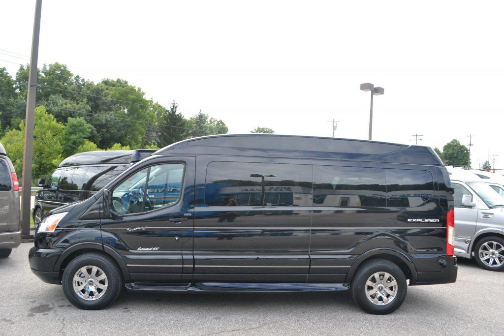 2016 Ford Transit 9 Passenger Explorer Van Power Stroke Turbo Diesel