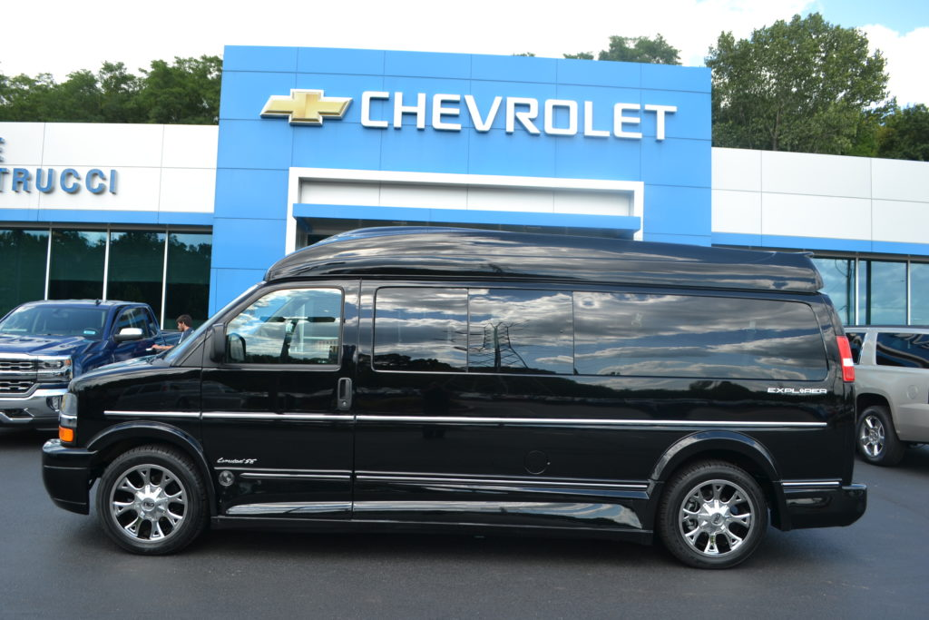 Explorer Van Co X on Chevy 9 Passenger Conversion Van Interior