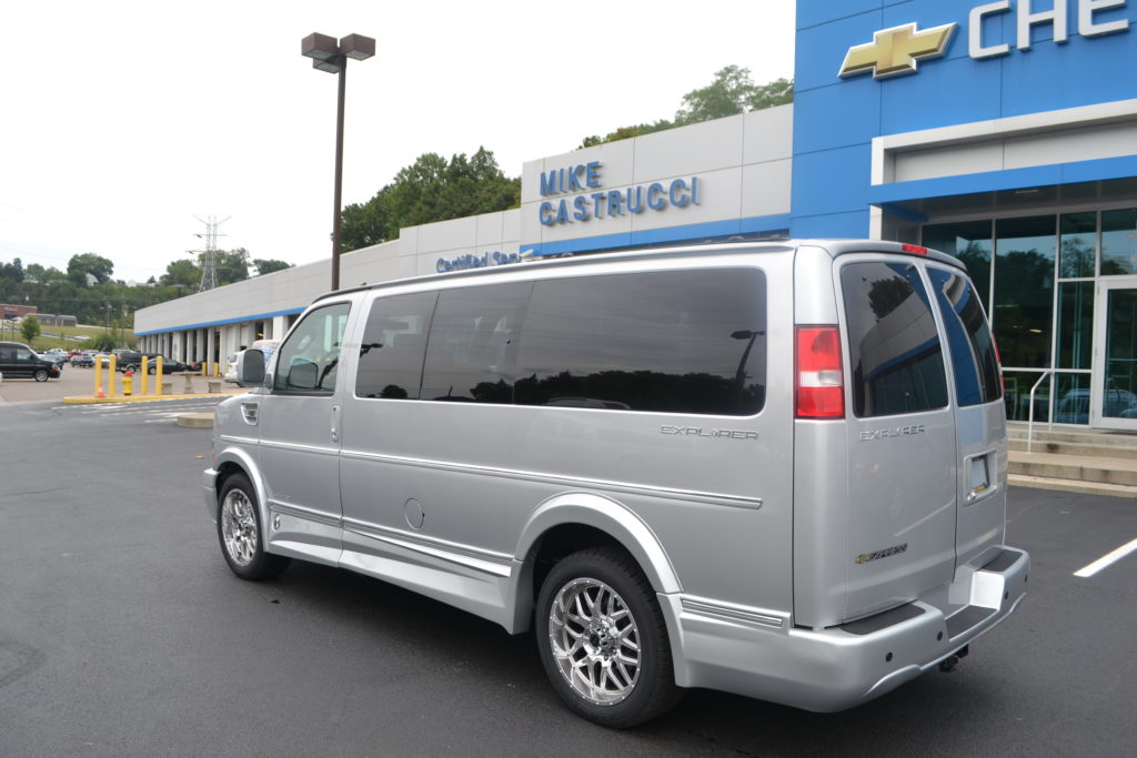 2017 Chevy Express 2500 Explorer Limited X SE Mike