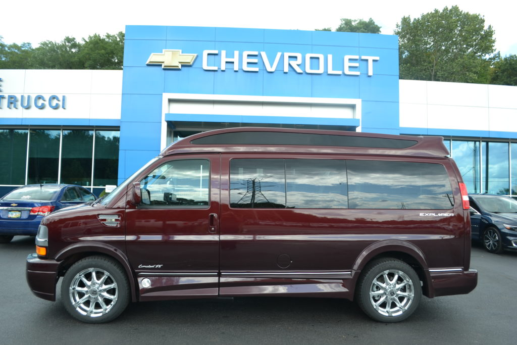 2017 Chevrolet Express 2500 Explorer Limited X-SE H1292074 Red Fade Conversion Van Land Mike Castrucci Chevrolet