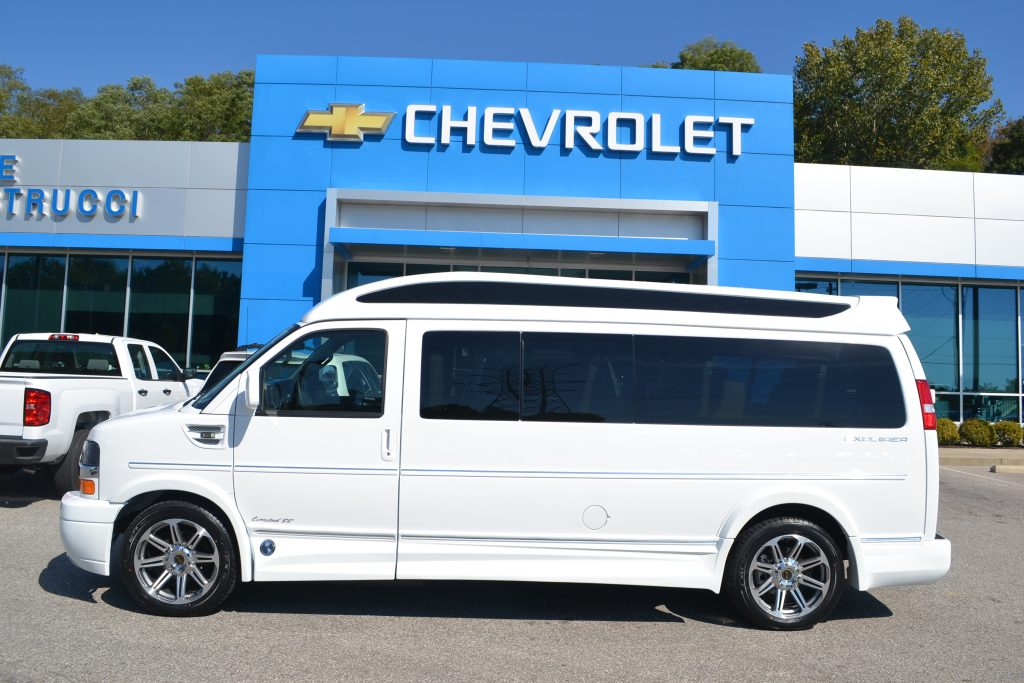 2017 Chevrolet Express, Explorer Conversion Limo 9 Passenger White