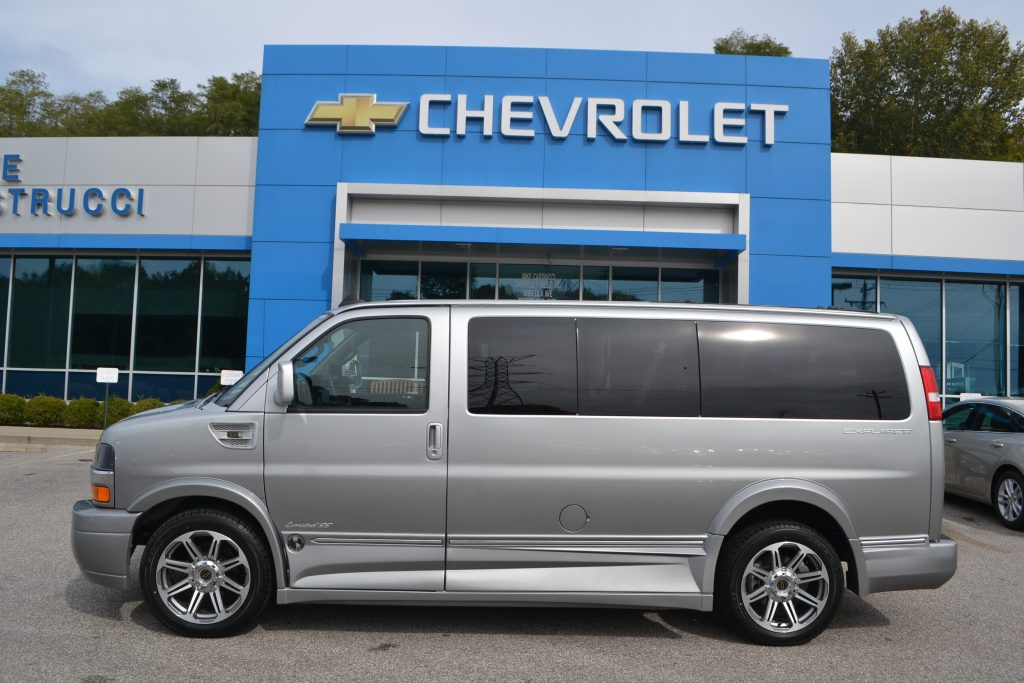 2017 Chevrolet Express Explorer Limited X-SE Silver Fade X-SE Low-top Conversion Van Land