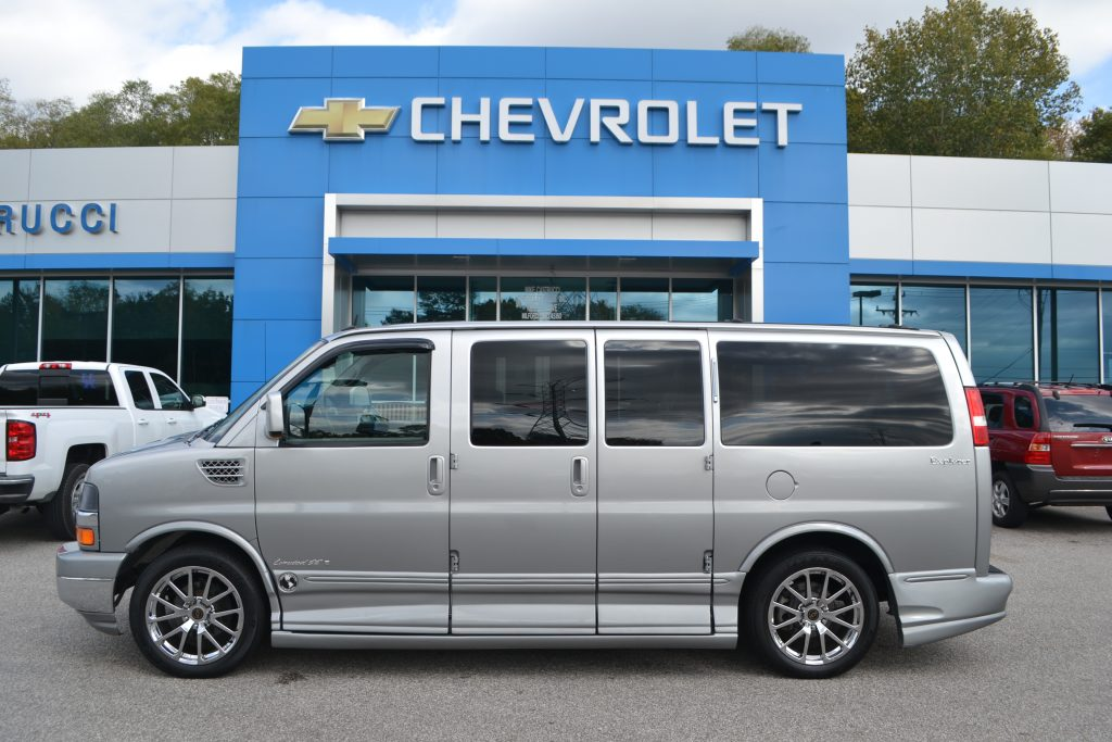 2012 Chevrolet Express, Explorer Limited X-SE Low top Silver Metallic Fade