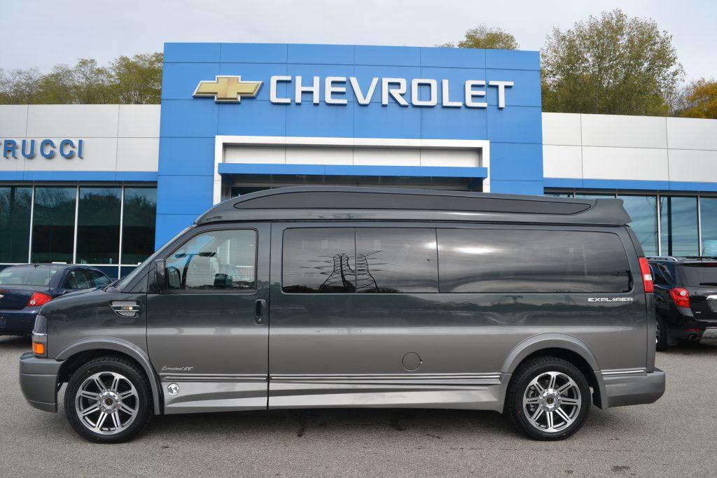 2017 Chevrolet Express 9 Passenger Explorer Limited X-SE Graphite Fade