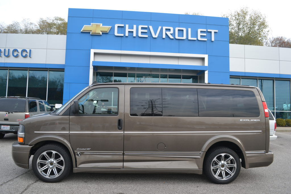 2018 Chevrolet Express 9 Penger Explorer Conversion Van Limited X Se G1205017 Brownstone Mike Castrucci