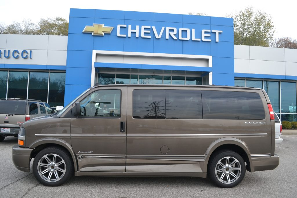 2016 Chevrolet Express Explorer Conversion Van Brownstone Metallic Limited SE low-top Conversion Van Land
