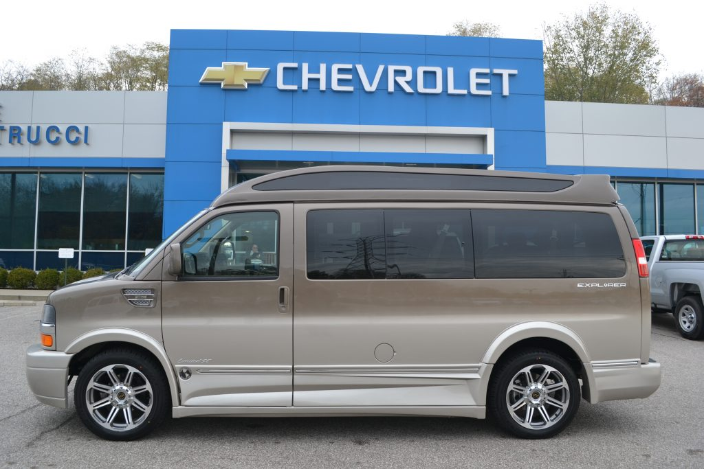 2017 Chevrolet Express Explorer Conversion Van Brownstone Metallic Fade