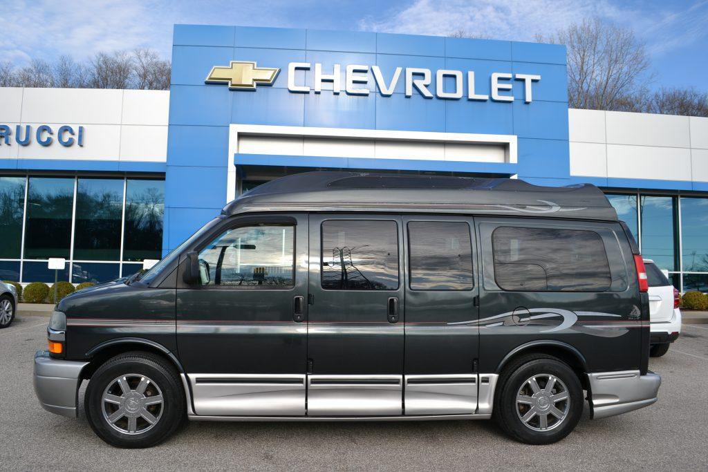 2003 Chevy Express American Conversion Graystone Metallic Conversion Van Land