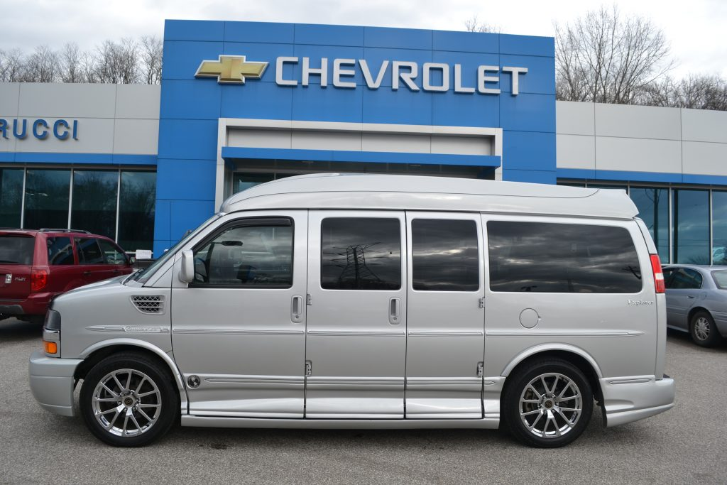 2013 Chevrolet Express Explorer Limited X-SE Silver Ice Metallic Conversion Van Land